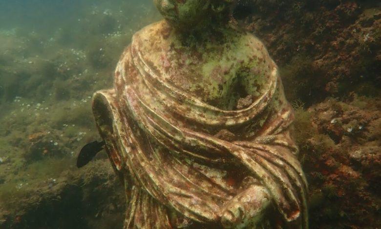 Photo of Zlé dvojče Pompejí: Zatopené město neřestí na dně Neapolského zálivu