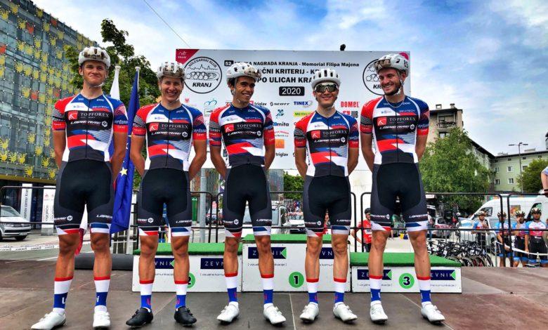 Photo of Slovenští závodníci v barvách Topforex Lapierre bodovali v závodě Mamut Tour